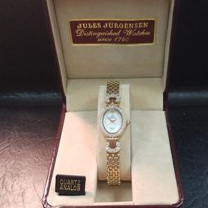 Jules Jurgensen diamond watch